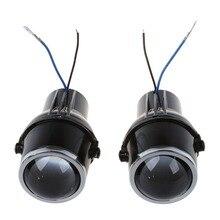 2 предмета 55 W H3 Универсальный HID ксеноновый галогенный Туман лампа авто объектива