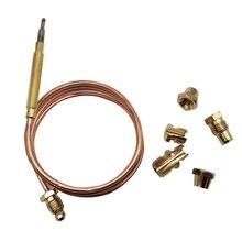 900 мм газовая плита Универсальный термопара комплект M6X0.75 с пролитыми гайками(пять) Замена термопары