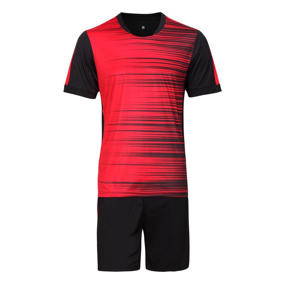 0e7c35d035 Curso Vertical da placa de jogo camisa de futebol treino de futebol terno  short terno masculino jogo collants roupas de treinamento em Camisas de  futebol de ...