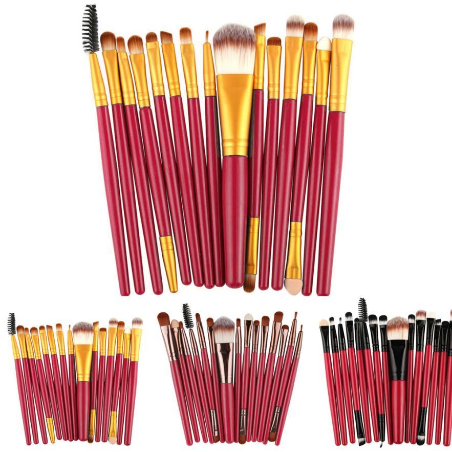 Schönheit & Gesundheit 2019 Neue 15 Stücke Brochas Maquillaje Profesional Pinceaux Maquillage Lidschatten Foundation Augenbrauen Lip Pinsel Make-up Pinsel Werkzeug #7 Extrem Effizient In Der WäRmeerhaltung