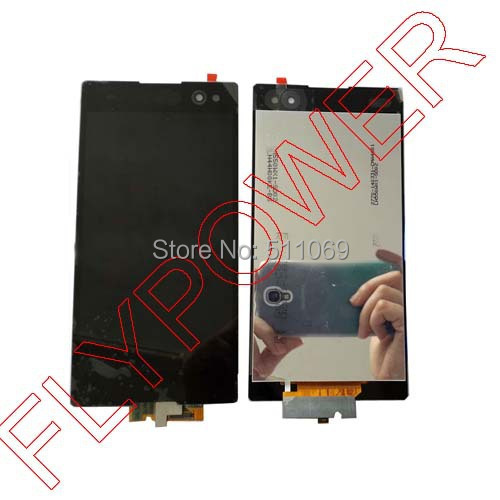 ФОТО For SONY Xperia C3 S55T LCD Display with Touch Screen Digitizer Assembly by free shipping