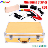 2015 Portable K66 Car Battery Jump Starter 12V Emergency Power Bank Jump Starter 18000mah
