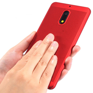Image 2 - Heat Dissipation Case For Nokia 2 5 3 8 7 6 2018 Sirocco Ultra Thin Protective Back Cover Hollow Bumper Housing Capas