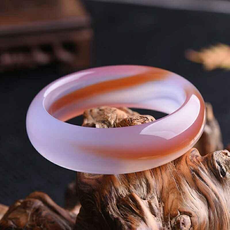 บริสุทธิ์ธรรมชาติชาดโมราโมราสร้อยข้อมือ