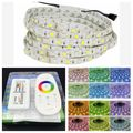 5M RGBW RGBWW 300Leds 5050 SMD LED Strip Light Non-Waterproof DC12V + RGBW 2.4G Touch Screen RF Remote Controller Set
