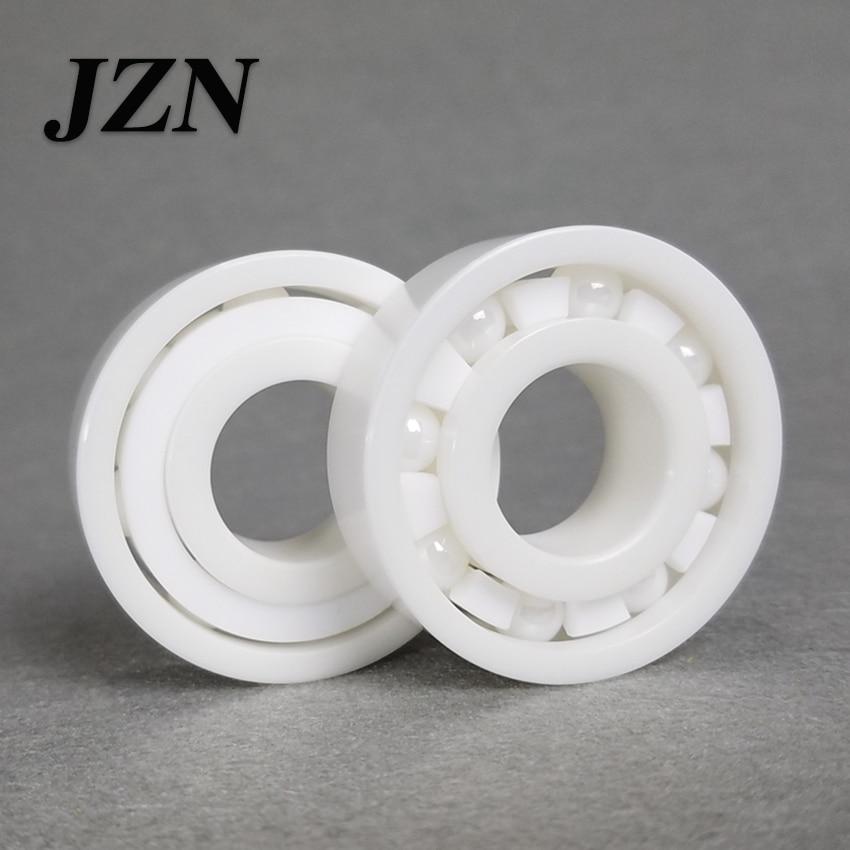 Free shipping 6300 6301 6302 6303 6304 6305 6306 full ZrO2 ceramic ball bearing zirconia bearing good quality цена и фото