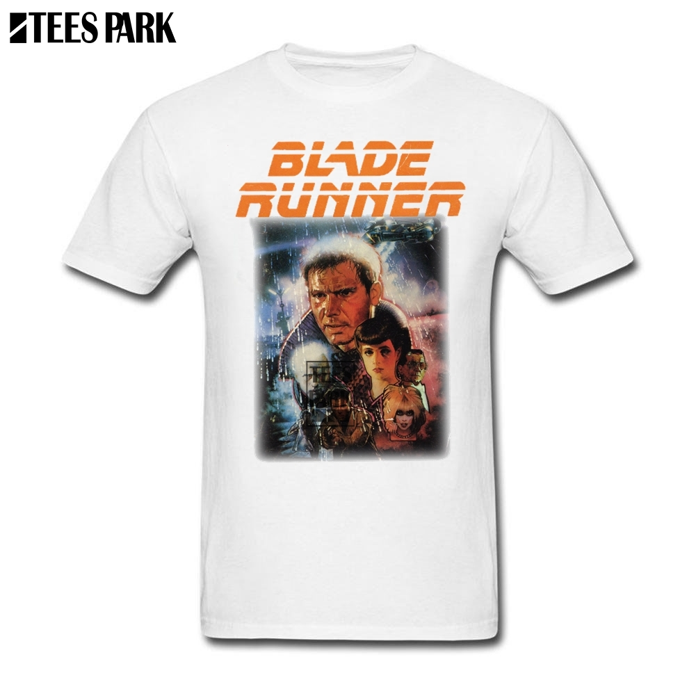 Shopping Blade Runner T Shirt Sale Adult Slim Fit Short Sleeve T Shirt Normal Male Newest Tee Shirts Summer Hot Fashion Clothing