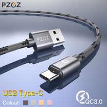 PZOZ USB Type C Fast Charging usb c cable Type c data Cord Phone Charger For