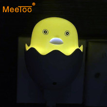 MeeToo Factory Price Book Lights Smart Control 100V - 240V lamp Bulbs Motion for baby US EU Plug Best gift for kids(China)
