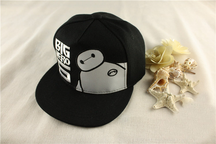 1 Piece Movie Big Hero 6 Baymax Cosplay Snapback Hat Adjustable Embroidery  Baseball Cap 3 Colors for Children-in Baseball Caps from Apparel  Accessories on ... 5fe13b5501de