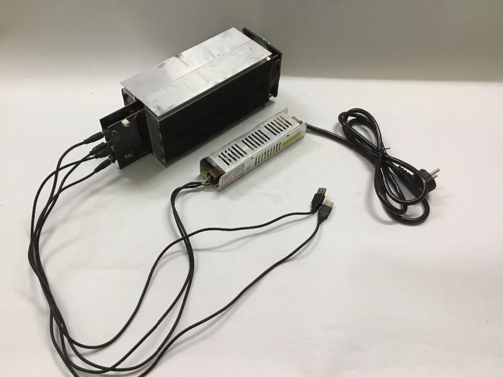 YUNHUI LTC Miner 5.2~6Mh/s Gridseed Blade G-Blade USB Scrypt Litecoin ASIC Miner With PSU