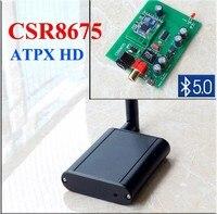 BT50 csr8675 Bluetooth, чтобы коаксиальный Оптический цифровой аудио bluetooth приемник аудио Интерфейс aptX HD Bluetooth 5.0