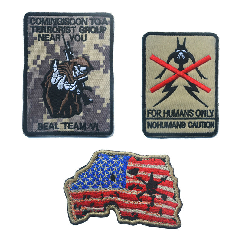 Online Get Cheap Embroidery Map Patch Aliexpresscom Alibaba Group - China map in us flag