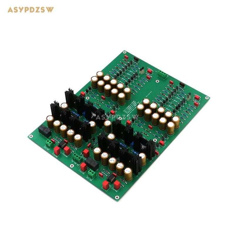 цена на Assembeled KG version KSA5 headphone amp board /preamp audio amplifier board