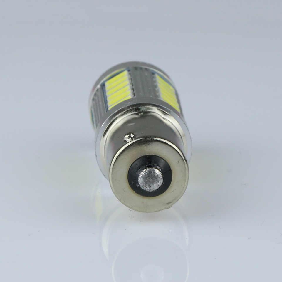 ANMINGPU 2 шт. автомобиля световая сигнальная лампа 1156 BA15s P21W светодиодный Светодиодный включить стоп-сигнал заднего фонаря 33SMD 5730 светодиодный авто задний Реверс лампы r5w