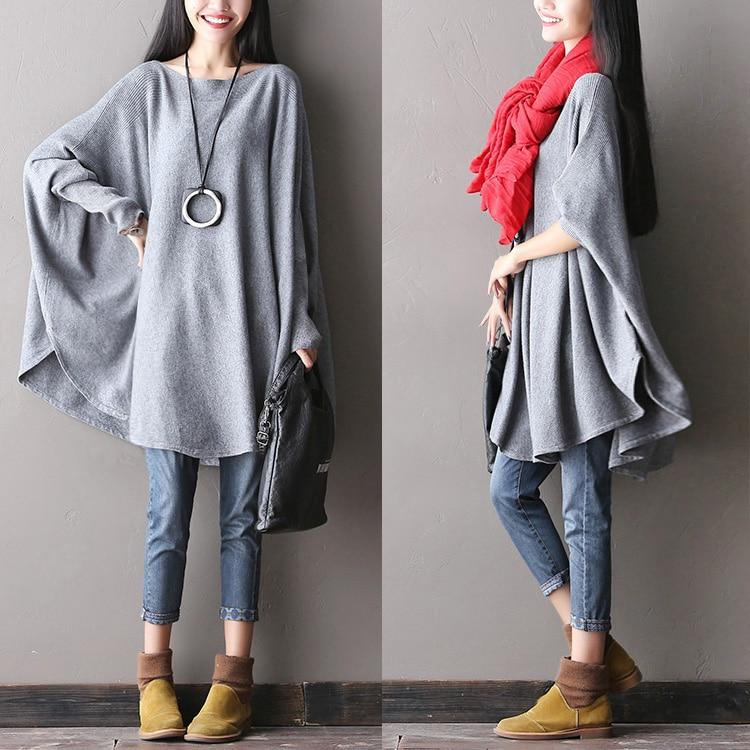 2016 female new autumn plus size cape intellectuality type soft sweater cashmere sweater slit neckline shirt cape love cashmere cape