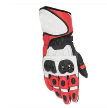 Motorcycle Racing Gloves Leather Gloves Knight Drop team Stars Gloves motorsiklet eldiveni