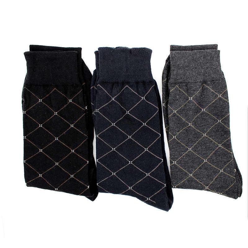 2018 новые летние мужские повседневные носки модные высококачественные длинные носки дышащие классические мужские хлопковые носки
