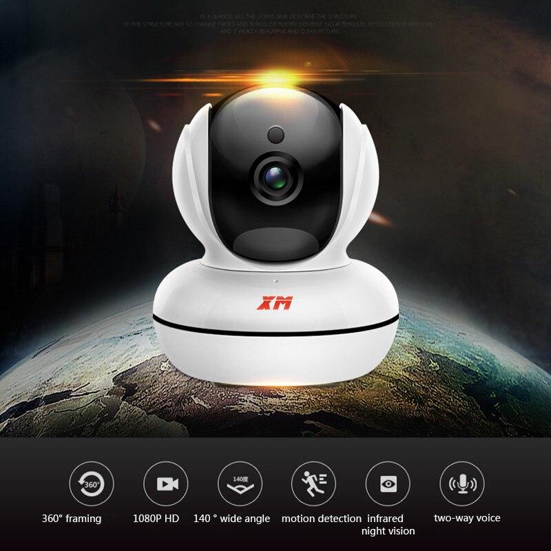 מיני בית מצלמה 720 p HD וידאו צג IP אלחוטי רשת מעקב אבטחת ראיית לילה התראת זיהוי תנועת WiFi מצלמה