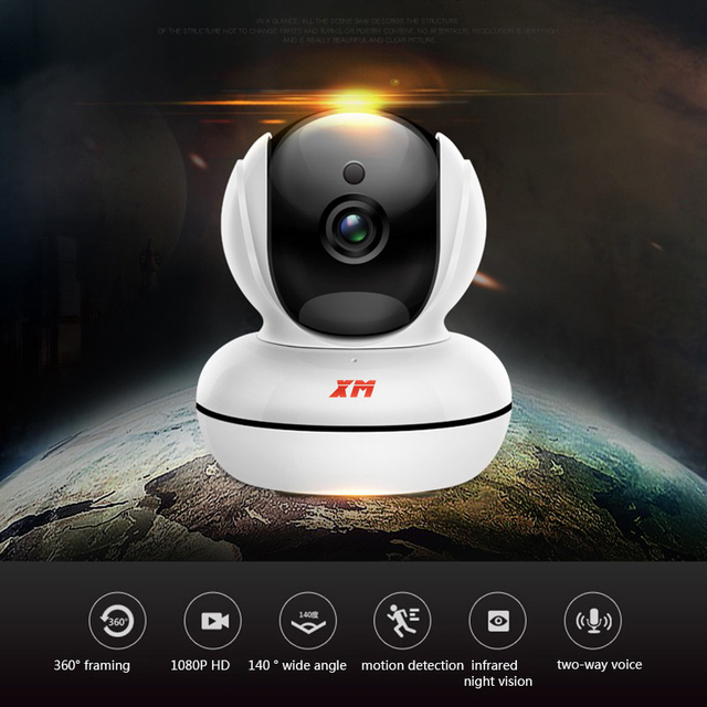 Mini Home Camera 720P HD Video Monitor IP Wireless Network Surveillance Security Night Vision Alert Motion Detection WiFi camera