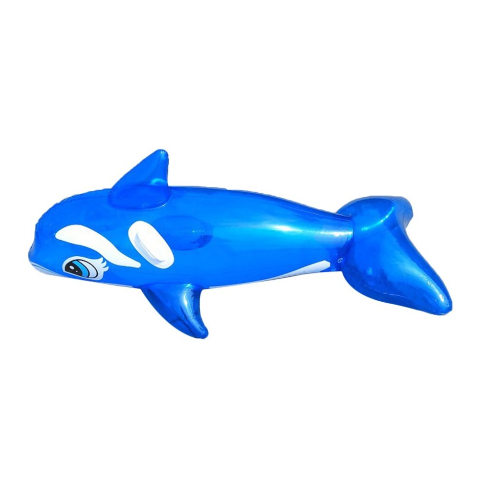2018 Baby Bath Lovely Dolphin Inflatable Seat Raft Floating Bed Float Swimming Pool Children Summer Beach Seaside Holiday Water