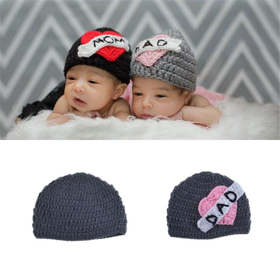 Amour maman papa d amour crochet jumeaux chapeau crochet tricot 233