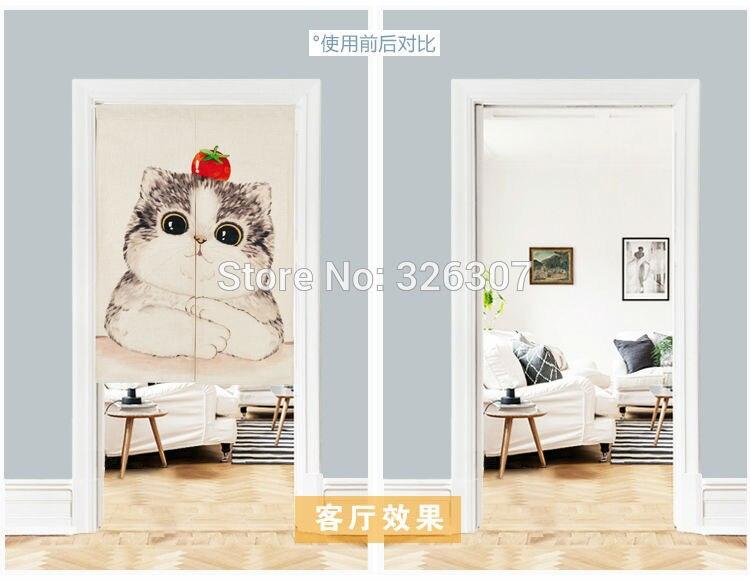 cortina casa ato portiere enforcamentos 85x90cm 85x120cm porta meia cortina