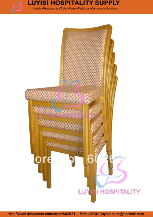 Stackable Metal dining chairStackable Metal dining chair