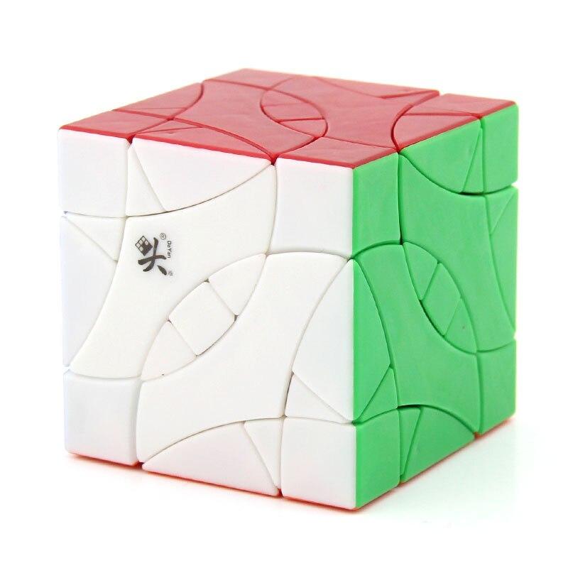 DaYan Perruche BiYiNiao 12-axe 3-rang Magie Cube Noir Stickerless Étrange Forme Cube Jouets Pour Enfants - 4