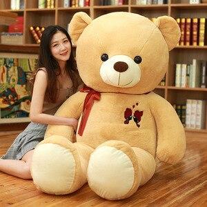 Image 4 - 1 adet büyük oyuncak ayı peluş oyuncak güzel dev ayı büyük dolması yumuşak bebekler çocuk oyuncak doğum günü hediyesi kız arkadaşı için