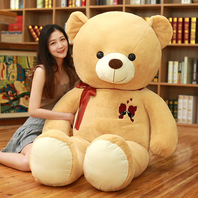 Image 4 - 1PC Large Teddy Bear Plush Toy Lovely Giant Bear Huge Stuffed Soft Dolls Kids Toy Birthday Gift For Girlfriend-in Stuffed & Plush Animals from Toys & Hobbies