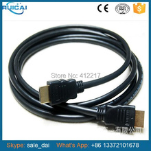Alta Qualidade 1.5 m Preto Cabo HDMI Linha