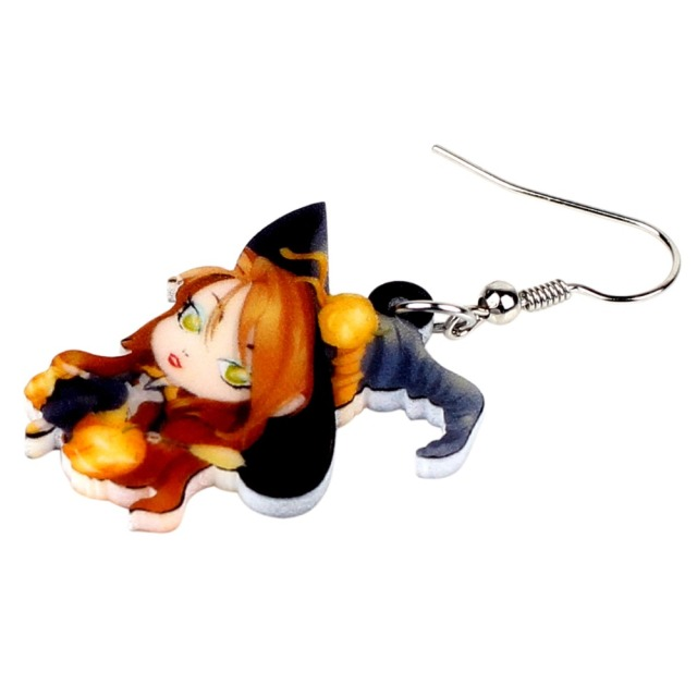 Halloween Witch Earrings 1