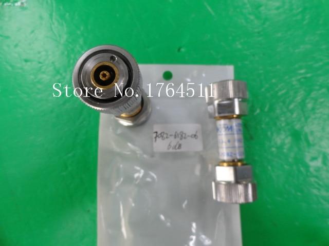 [BELLA] M/A-COM 7082-6182-06 DC-12.4GHz 6dB APC-7 Coaxial Fixed Attenuator