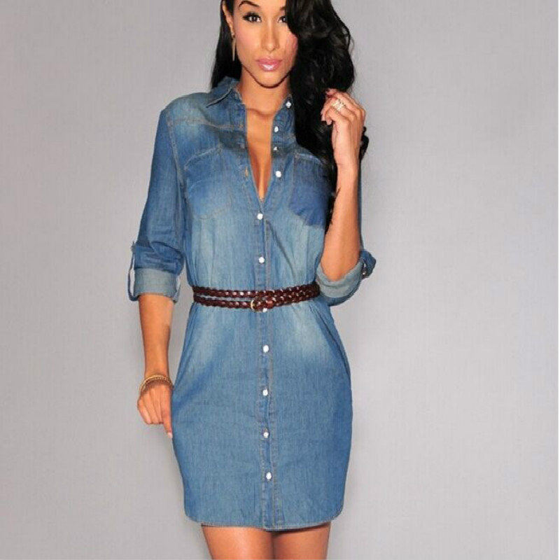 Vestidos jeans para mujer