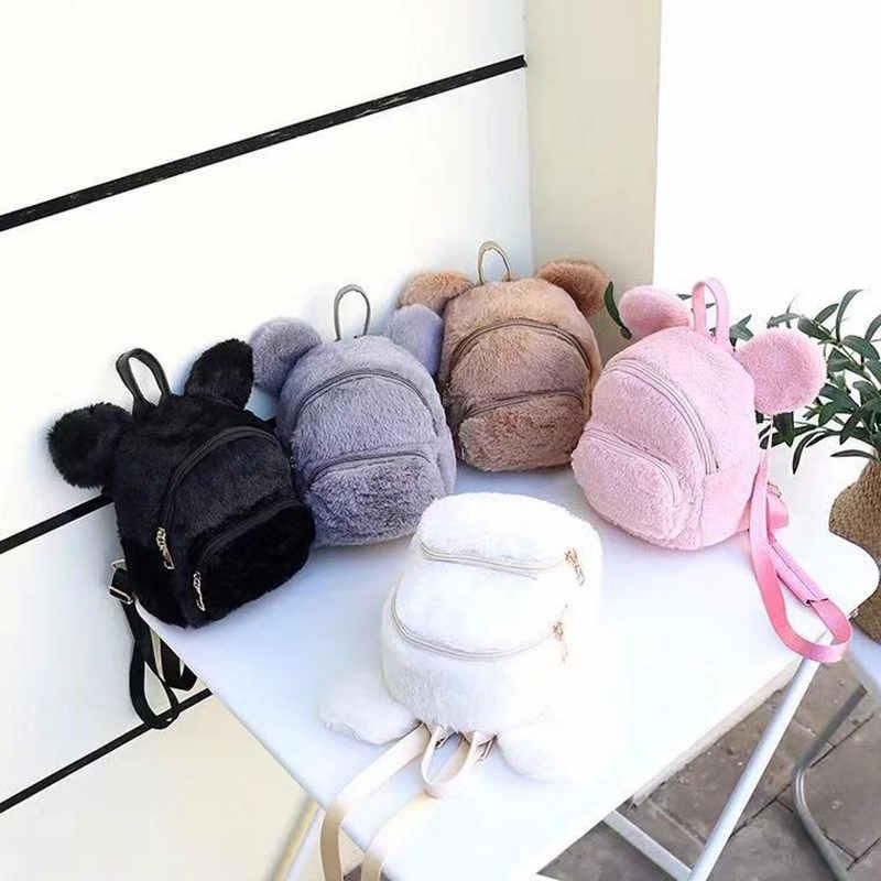 """Новые модные женские рюкзаки милый рюкзак """"Микки"""" женский модный рюкзак дизайнерские рюкзаки для подростков девочек путешествия Mochilas"""