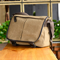 Squirrel fashion vintage classic canvas patchwork men messenger bags vogue hipster cross-body business splice men's handbags
