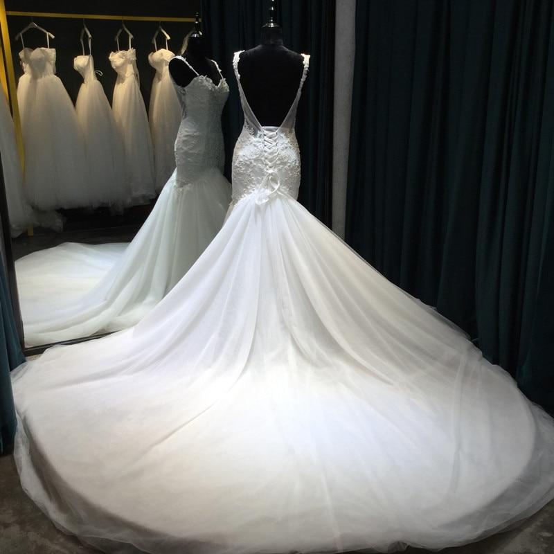 Vestido De Noiva Lace Mermaid Bröllopsklänningar 2017 Sweetheart - Bröllopsklänningar - Foto 3