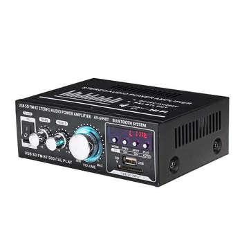 Baterías De Audio Para El Automóvil   Lepy 12 V/220 V 400 W 2 CH Bluetooth Estéreo Hifi Amplificador USB SD FM Radio De Stereo Amplificador De Audio Para El Hogar Del Coche