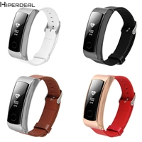 HIPERDEAL New Leather Accessory Band Bracelet Watchband For Huawei Honor Band 3 17Dec23 Drop Ship F
