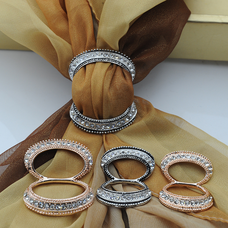 2018 New product Scarf Clip Straight Brooches For Women,high quality crystal decoration,exclusive design,shawls accessories