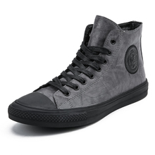 Designer Men shoes leather fashion High Tops Male boots Luxu