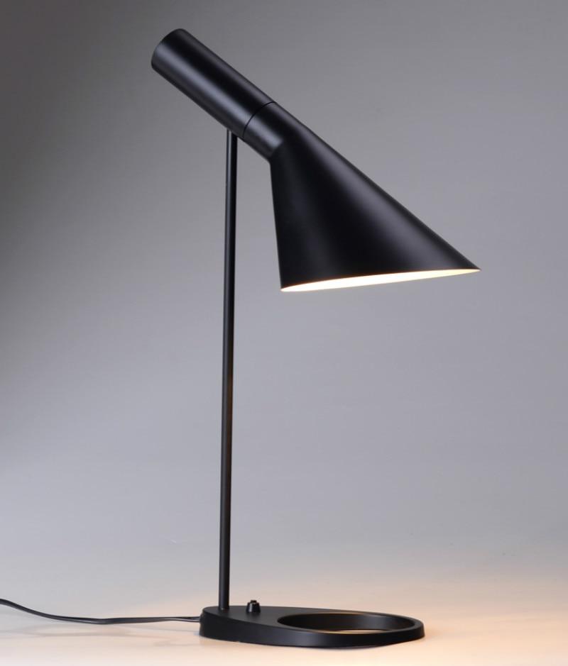 Antique rutal iron table Lamp Luminaria De Mesa for art salon Library Class Room Study Table