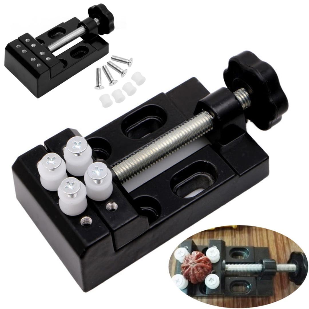 1pc New Mini Carving Bench Clamp Drill Press Vice Micro Clip Flat Vise DIY Hand Tools 105 x 55 x 35mm цена 2016