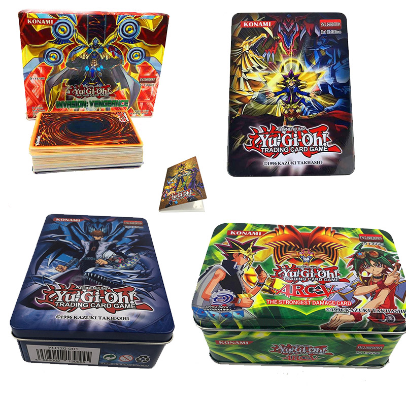 2019set Rare Cards Yugioh Yu Gi Oh Children's Paper Cards Game Yu-Gi Child's Toys -card