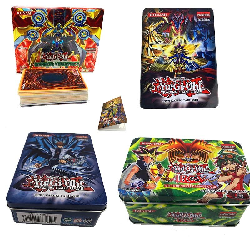 2019set Rare Cards Yugioh Yu Gi Oh Children's Paper Cards Game Yu-Gi Child's Toys -card