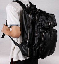 Mens brown leather backpack online shopping-the world largest mens ...
