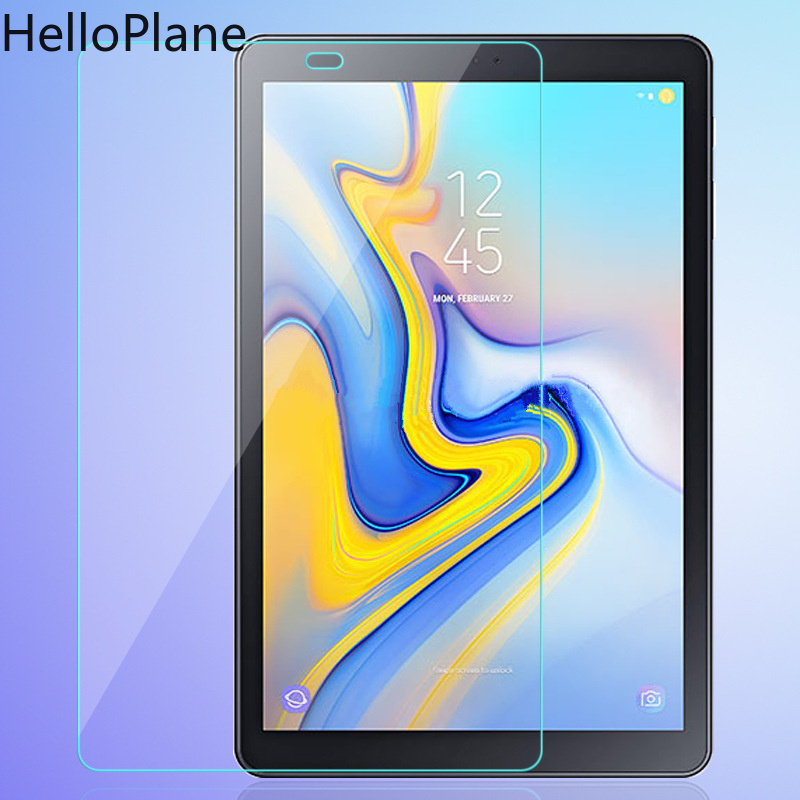 Tempered Glass For Samsung Galaxy Tab A2 2018 10.5 inch A Advanced 2 Advanced2 T590 T595 SM-T590 Tablet Screen Protector Film benks tempered glass for xiaomi 5 2 5d radians screen protector