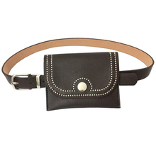 2018 Νέα τσάντα μέσης διπλής χρήσης Μίνι τετράγωνη τσάντα αγκίστρια με vintage στυλ μεταλλική ζώνη για τις γυναίκες Γυναίκα έφηβος Drop Shipping Hot