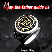 Cross Knights Templar's Ring
